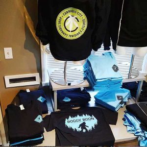 Cannabis City Glass and Gear T-shirts and Hats